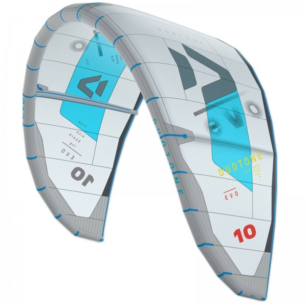 2020 DUOTONE EVO KITE ~ GREY ~ ALLROUND FREESTYLE KITE SCHIRM