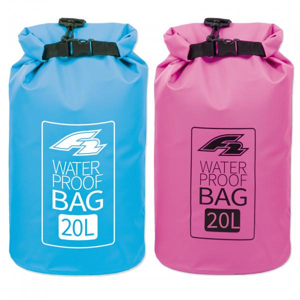 F2 LAGOON DRY BAG 20 LITER BLUE / PINK