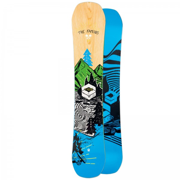 HERREN FREESTYLE CAMBER SNOWBOARD FTWO T-RIDE 2019