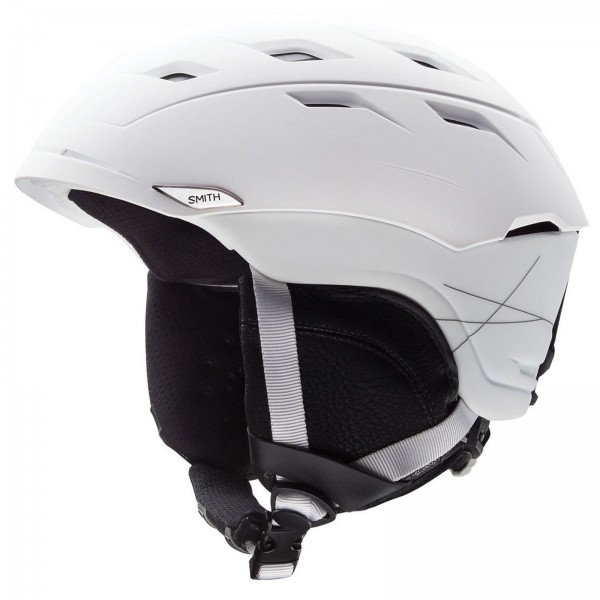 HERREN SKI & SNOWBOARD HELM SMITH SEQUEL MATTE WHITE