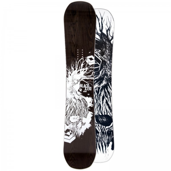 FTWO HERREN FREESTYLE SNOWBOARD BLACKDECK WOOD 2019 ~ DOUBLE CAMBER