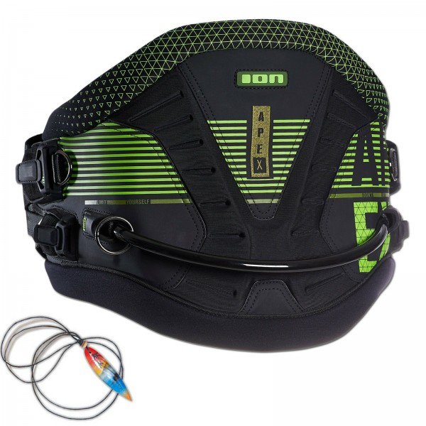 ION APEX HERREN HÜFT KITE TRAPEZ - WAIST HARNESS BLACK