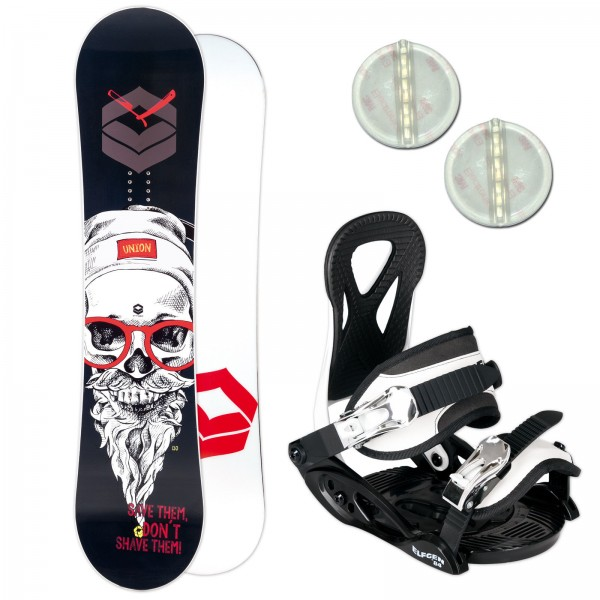 FTWO UNION KINDER SNOWBOARD SET 2019 + ELFGEN JUNIOR BINDUNG + PAD