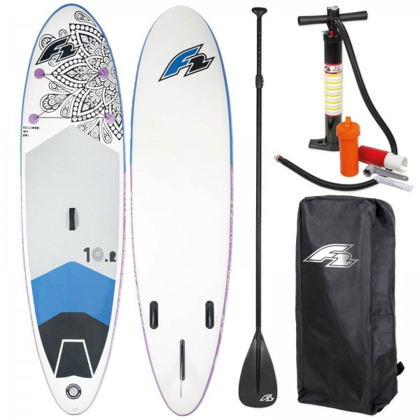 F2 SUP FEELGOOD 2020 STAND UP PADDLE BOARD AUFBLASBAR