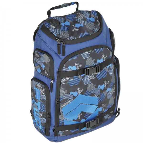 F2 SABOTAGE BAG BLUE ~ 17 L ~ SCHULE RANZEN BAG RUCKSACK BACKPACK TASCHE