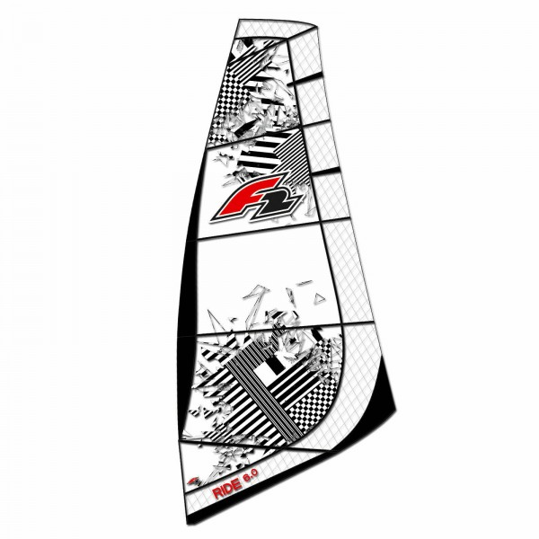 WINDSURF SEGEL RDM ~ F2 RIDE INKLUSIVE BAG 2020 ~ SAIL ONLY