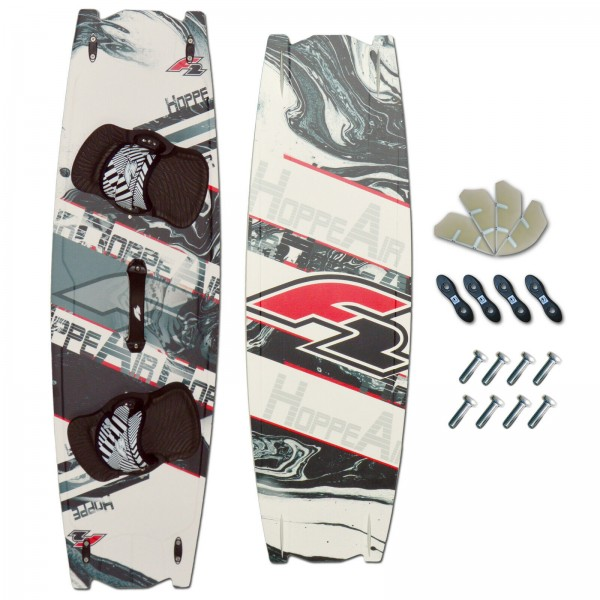CROSSOVER KITEBOARD ~ F2 HOPPE AIR + PADSET + FINNEN + HANDLE