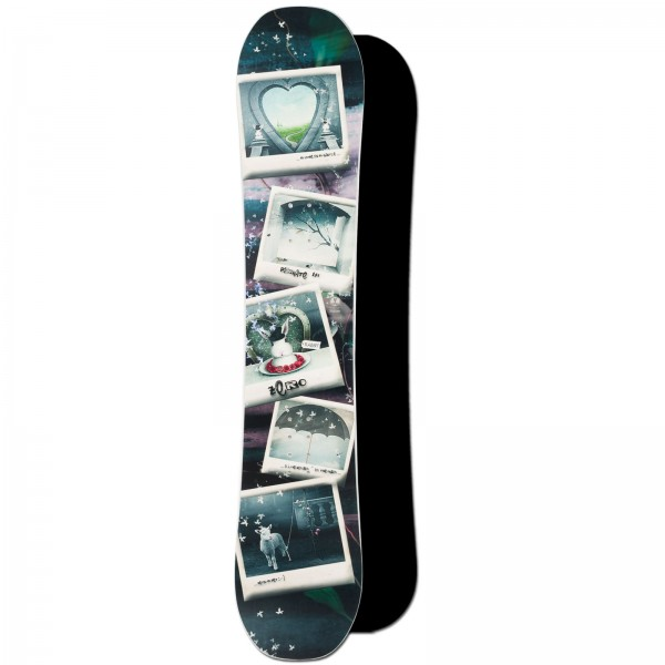 DAMEN FREESTYLE CAMBER SNOWBOARD ~ ZERO PIRATE