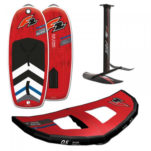 F2 GLIDE SURF AIR 5,4' - 120 LITER + FOILSET + WING 7m²