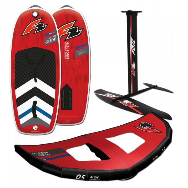 F2 Glide Surf Air Wingfoil Board + Foilset + Wing