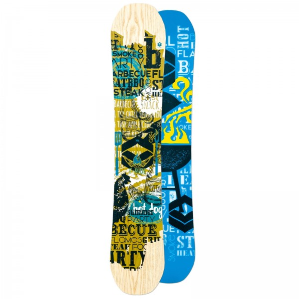 HERREN FREESTYLE CAMBER SNOWBOARD FTWO T-RIDE