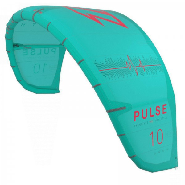 2020 NORTH PULSE KITE ~ GREEN ~ FREESTYLE KITE SCHIRM