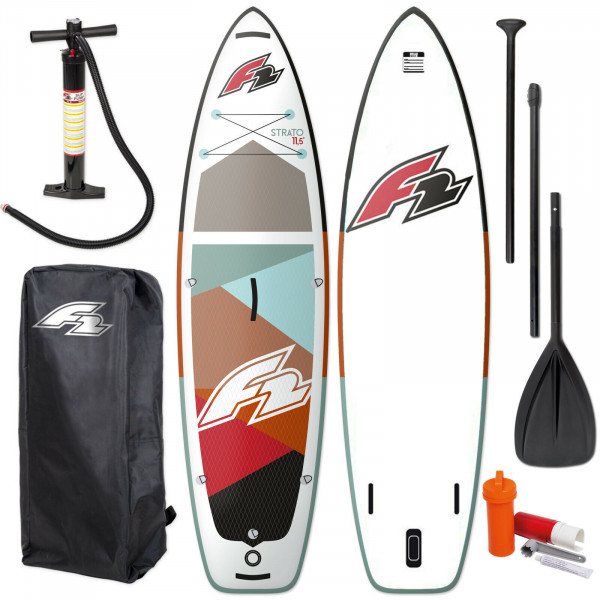 F2 STRATO WOMAN SUP 2021 STAND UP PADDLE BOARD & PADDEL + BAG + PUMPE