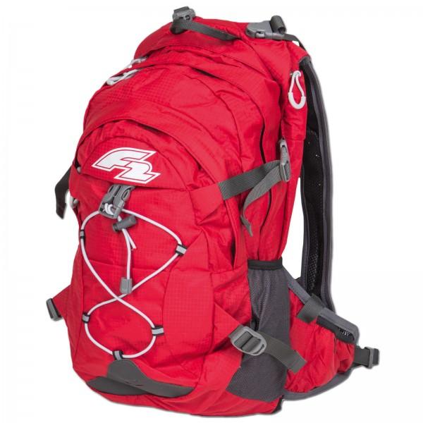 F2 TOUREN RUCKSACK WANDER TREKKING CAMPING BAG ~ F2 DAYPACK TEAM 18 L RED