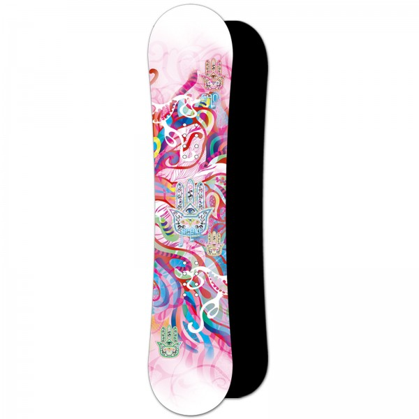 DAMEN FREESTYLE CAMBER SNOWBOARD ~ FIVEFORTY 540 PEACE