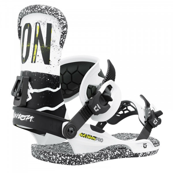 UNION Contact Pro Herren Snowboard Bindung 2022 - Scott Stevens - White - GR. L