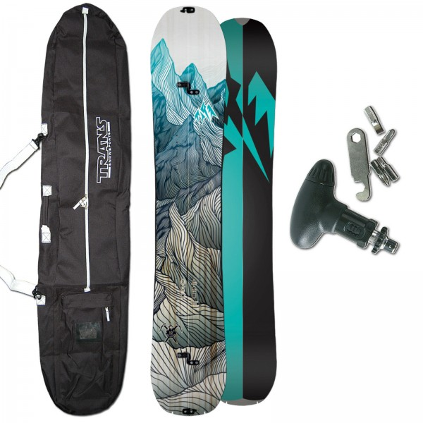 JONES DAMEN SNOWBOARD SPLITBOARD SOLUTION 2020