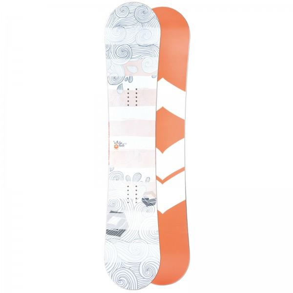 FTWO DAMEN FREESTYLE SNOWBOARD WHITEDECK 2019 ~ CAMBER