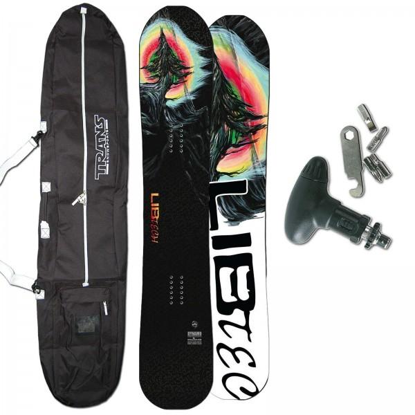 LIB TECH FREESTYLE SNOWBOARD DYNAMO C3 2020 + BAG + TOOL