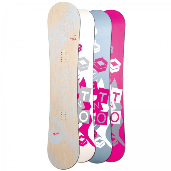 FTWO DAMEN FREESTYLE SNOWBOARD WHITEDECK ~ ROCKER