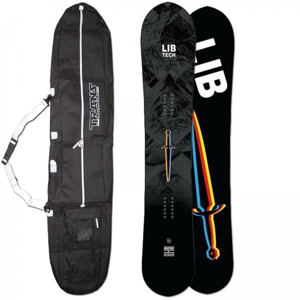 LIB TECH HERREN SNOWBOARD SWISS KNIFE 2021 ~ 158 CM + GRATIS BAG