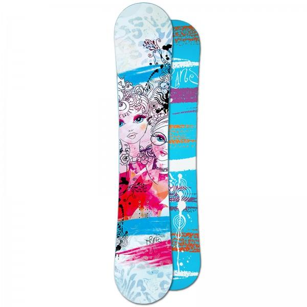 TRANS DAMEN FREESTYLE SNOWBOARD FULLROCKER - PREMIUM GIRL