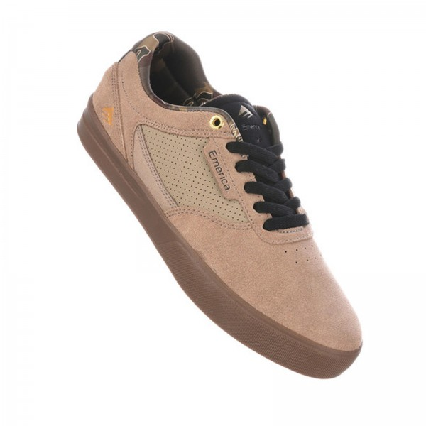 EMERICA EMPIRE G6 TAN GUM - HERREN SNEAKER SKATE TURN SCHUHE
