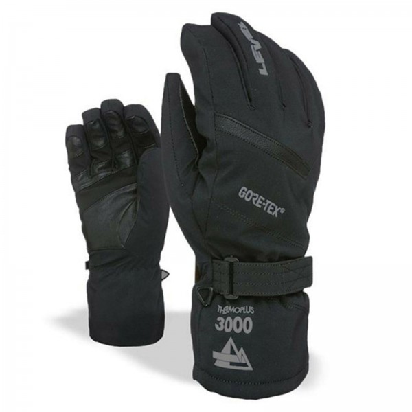 LEVEL EVOLUTION GORE TEX - HERREN SKI & SNOWBOARD FINGER HANDSCHUHE