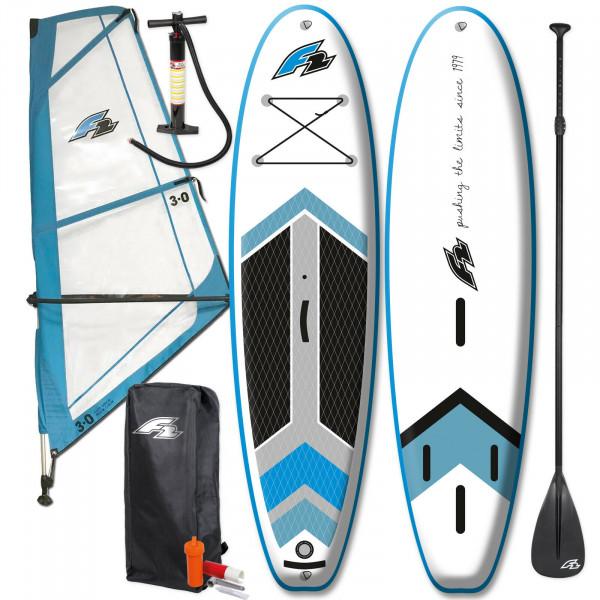 F2 SUP Team Windsurf 10' + F2 Checker Rigg 3m²