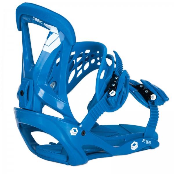 FTWO SNOWBOARD SOFTBOOT HERREN BINDUNG SONIC ~ BLUE