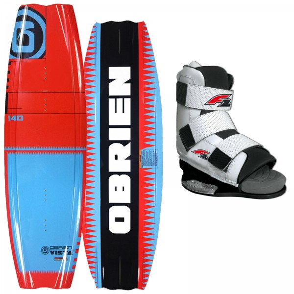 Obrien Vista Wakeboard + F2 Team Bindung