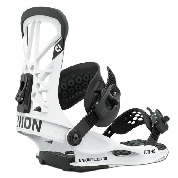 UNION Flite Pro Herren Snowboard Bindung 2022 - White