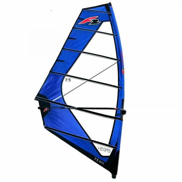 F2 Vegas Freeride Windsurf Sail SDM RDM 2022 - Komplett Rigg