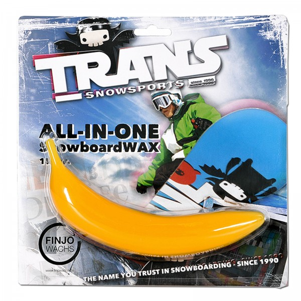 TRANS WACHSBANANE ~ SKI SNOWBOARD WACHS WAX 150 G - 13,33 € / 100 G