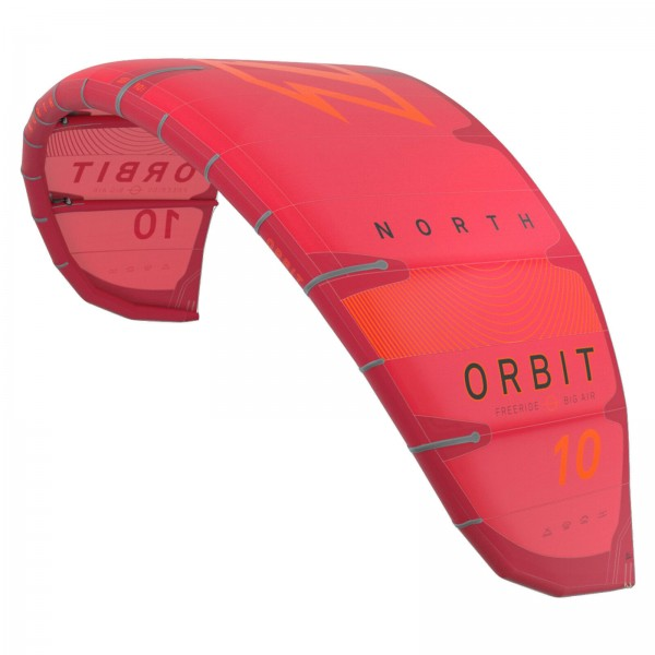 2020 NORTH ORBIT KITE 9 QM ~ RED ~ FREERIDE BIG AIR KITE SCHIRM