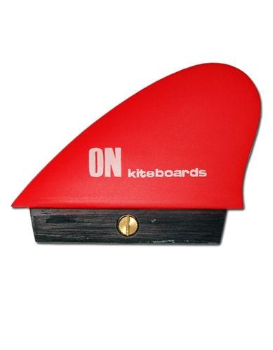 ON KITEBOARD FINNE HC ~ KITE FIN RED