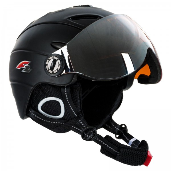 F2 WC WORLDCUP SKI & SNOWBOARD WINTERSPORT HELM BLACK