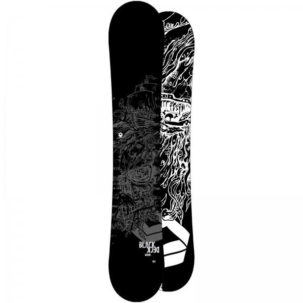FTWO HERREN FREESTYLE SNOWBOARD BLACKDECK WOOD 2020 GREY
