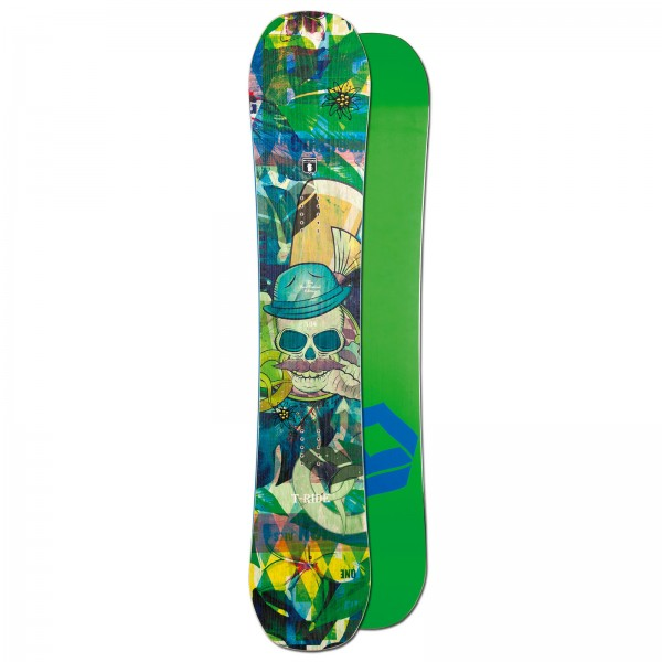 HERREN FREESTYLE SNOWBOARD FTWO T-RIDE 154 CM ~ CAMBER BOARD