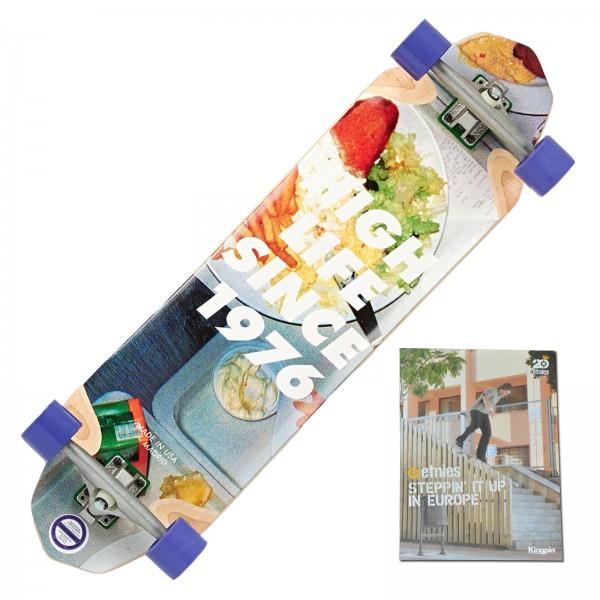 MADRID HIGH LIFE KOMPLETT LONGBOARD SKATEBOARD + SKATE DVD