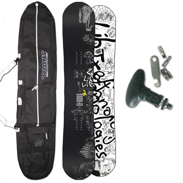 LIB TECH FREESTYLE HERREN SNOWBOARD SK8 SKATE BANANA BTX 2020