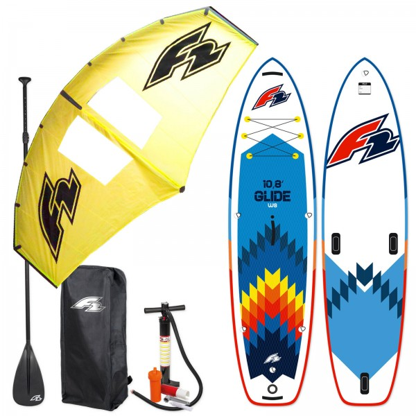 F2 GLIDE WINDSURF SUP 2021 STAND UP PADDLE BOARD + F2 WING