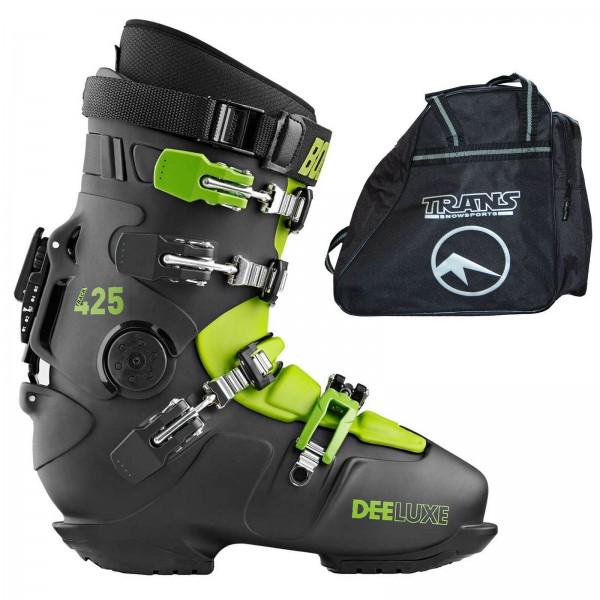 SNOWBOARD RACE ALPIN SCHUHE HARDBOOT DEELUXE TRACK 425 PRO T-DEL