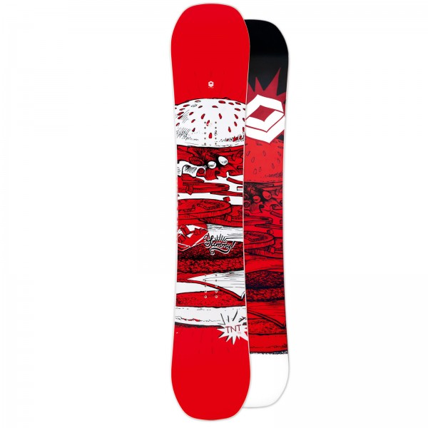 HERREN SNOWBOARD SET FTWO TNT RED 2019 + FTWO SONIC BINDUNG + BAG