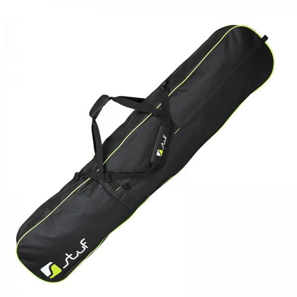 STUF BOARDBAG BAG BLACK GREEN 160 x 23 x 32 CM SNOWBOARD SKI TASCHE