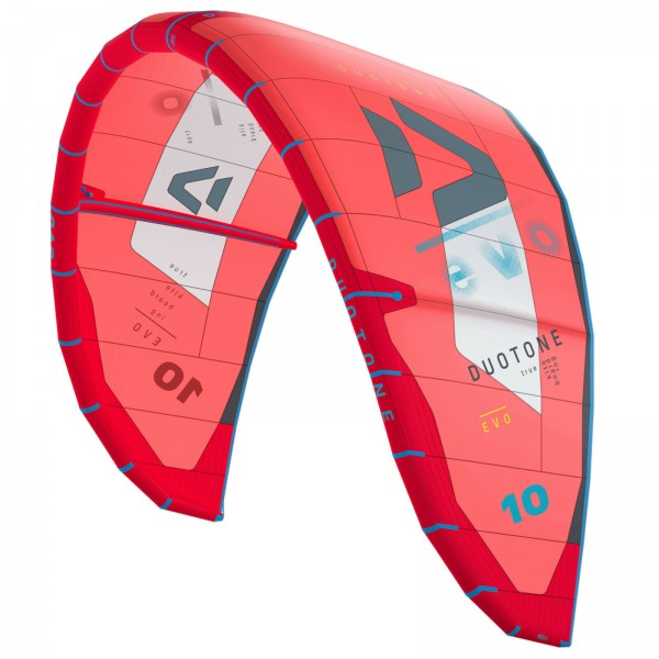 2020 DUOTONE EVO KITE ~ RED ~ ALLROUND FREESTYLE KITE SCHIRM