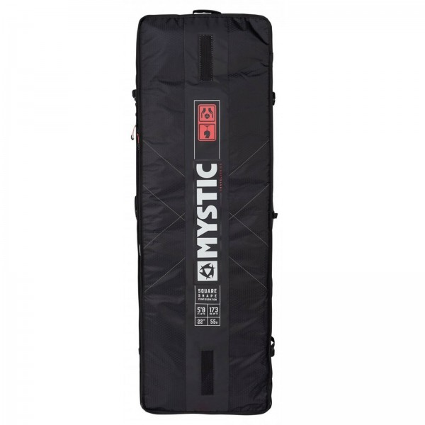 MYSTIC GEARBOX SQUARE BAG 2019 ~ KITEBOARD TASCHE BLACK