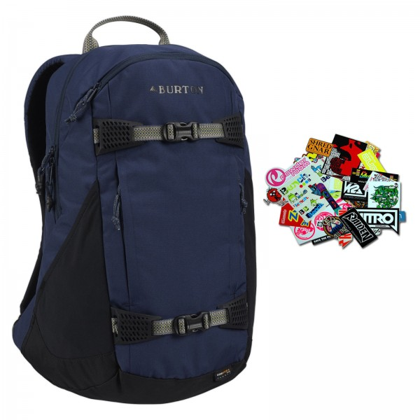 BURTON DAY HIKER MOOD INDIGO 2019 ~ 25 LITER RUCKSACK BAG RANZEN + STICKER