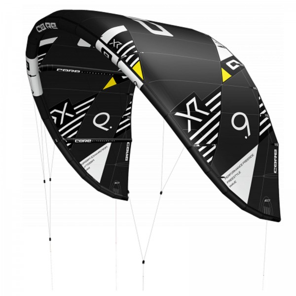 2020 CORE XR6 KITE ~ BLACK ~ HIGH PERFORMANCE KITE SCHIRM