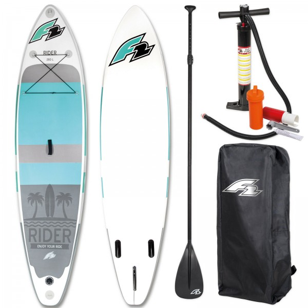 F2 SUP RIDER 2019 STAND UP PADDLE BOARD AUFBLASBAR